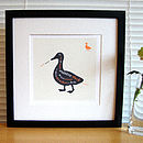 Thumb animal art print
