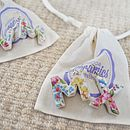 Porcelain Letter Earrings