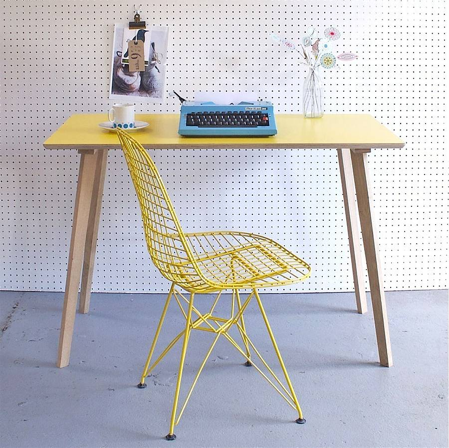 Perky Formica Table Yellow