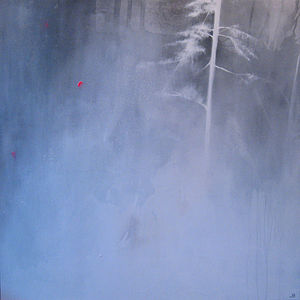 When Stillness Fell An Original Painting - paintings & canvases