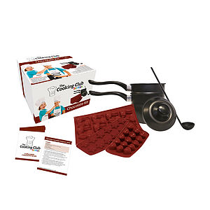 Childrens Chocolate Making Kit - creative kits & experiences