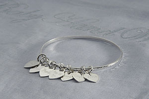 Bespoke Bangle For Sadie - bracelets & bangles