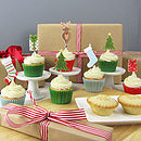 Christmas Cake Decorations & Cupcake Toppers
