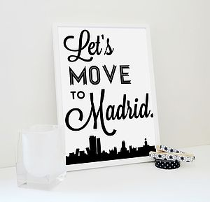 Let's Move To Madrid