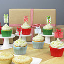 12 Christmas Present Cake Decorations