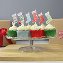 Personalised Stocking Christmas Cake Toppers