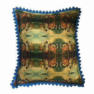 'La Chasse' Designer Luxury Cushion - shop by price