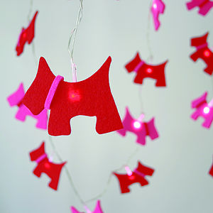 Scottie Dog Fairy Lights - fairy lights & string lights