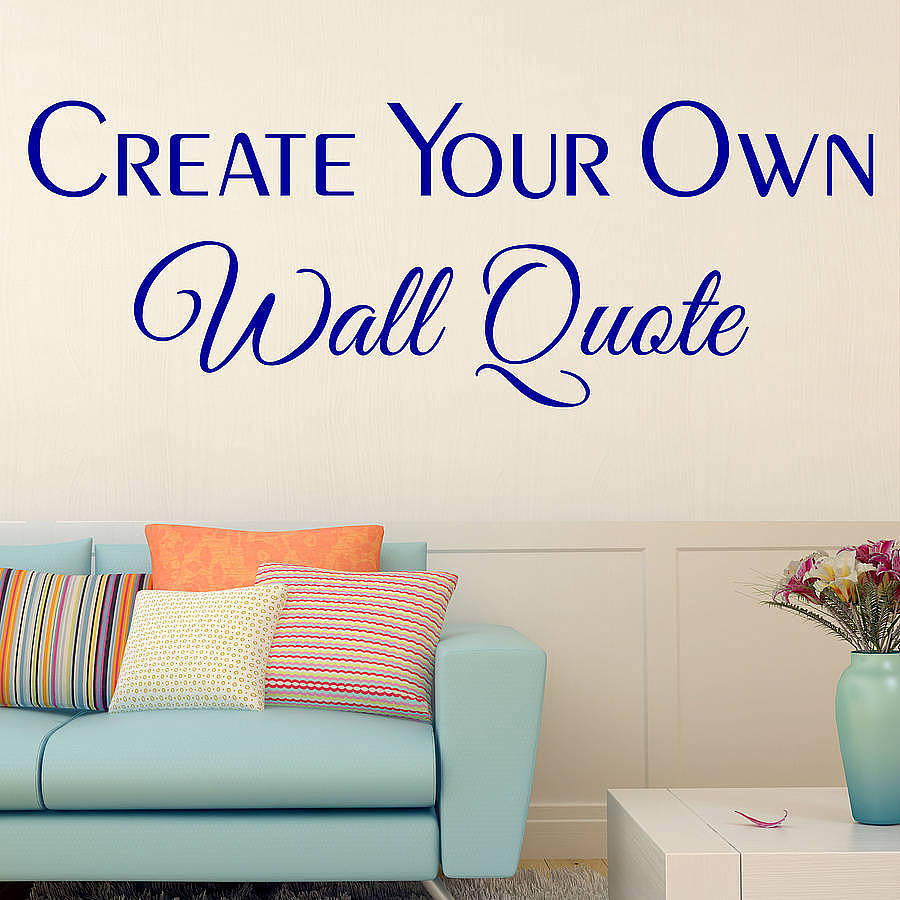 Customized wall decor stickers wall decor ideas