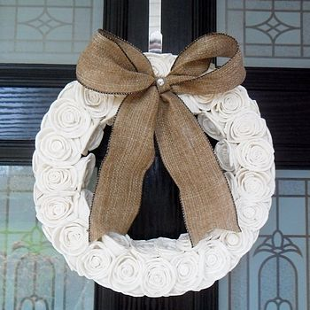 Sola Rose Circular Wreath