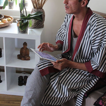 'Bah Humbug' Mens Dressing Gown