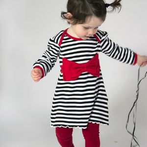 Bow Dress - babies' dresses