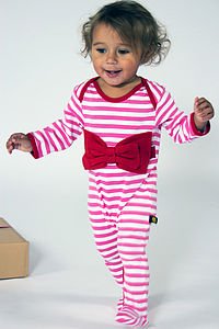 Bow Sleepsuit