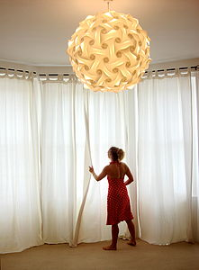 Smarty Lamps Elektra Ceiling Light Shade - dining room