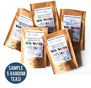 'Tea Roulette' Five Tea Experience Pack - teas, coffees & infusions