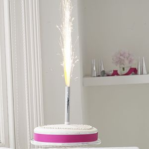 Silver Cake Ice Fountains: Two Packs Of Three