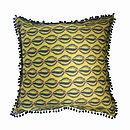 'Cowrie' Designer Luxury Cushion Cover
