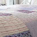 Cosy Winter Quilted Throw   Kingsize