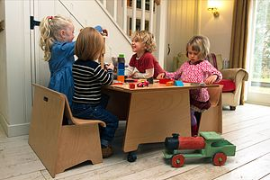 The Big Play Table For Small Spaces - traditional toys & games