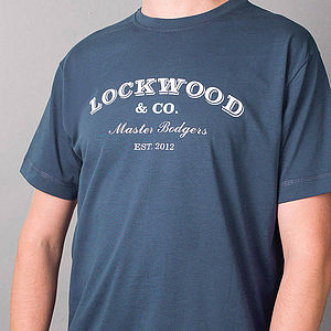 Personalised Handyman T Shirt - gifts under £50
