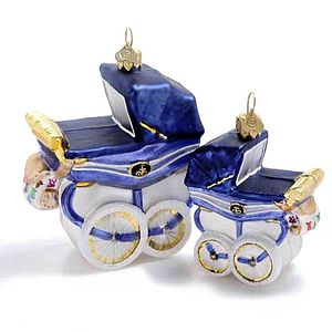 Royal Pram Christmas Decoration