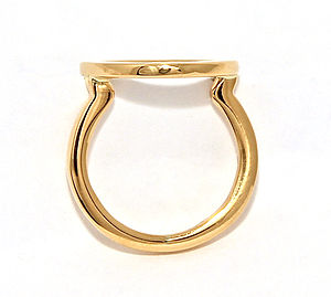 Cloud Ring Gold - rings