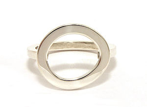 Cloud Ring Silver