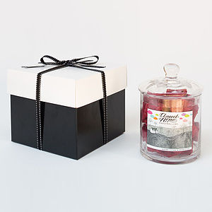 Briony Cloke Gourmet Marshmallow Jar - chocolates & confectionery