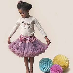 Camilla Pettiskirt - girls occasion wear