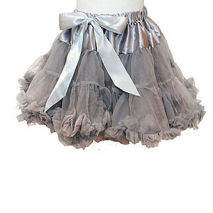 Camilla Grey Pettiskirt - children's skirts