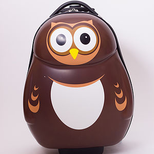 Pipi Owl Trolley Case