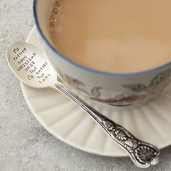 Christian Grey Tea Spoon