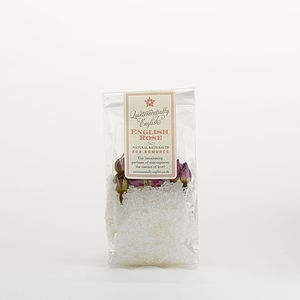 English Rose Organic Bath Salts - bath & body