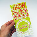 Gift Voucher Grow Your Own Mushrooms Kit