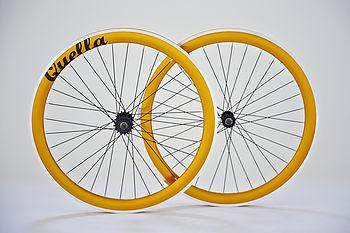 Deep V Fixed Gear Single Speed Wheelset