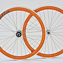 Deep V Fixed Gear Single Speed Wheelset