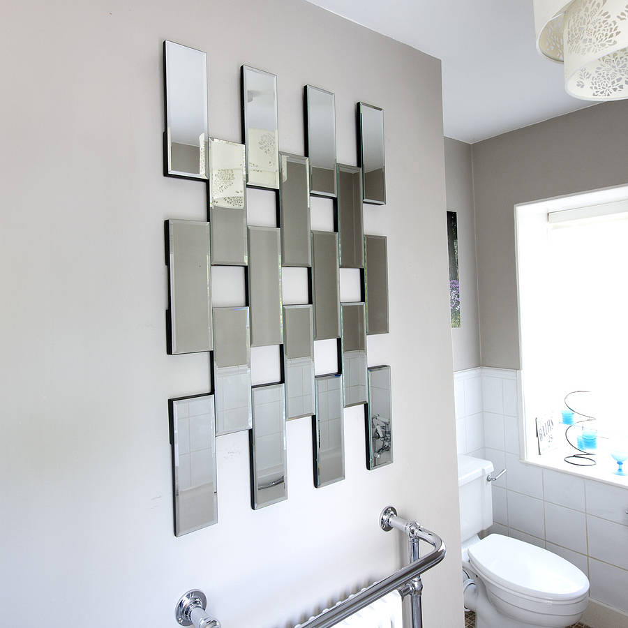 Maze tile mirror by decorative mirrors online for Miroirs decoratif