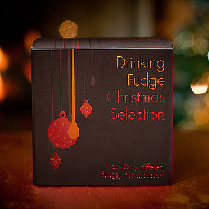 Drinking Fudge Christmas Selection - food & drink gifts