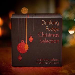 Drinking Fudge Christmas Selection