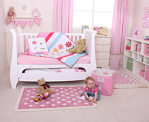 Dotty Rug - baby's room