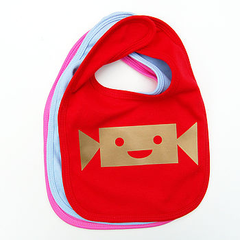 Christmas Cracker Baby Bib