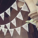 Love Bird Wedding Bunting