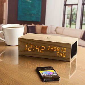 Music Click Clock - gifts for music lovers