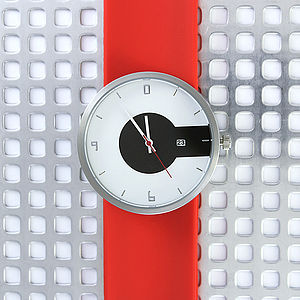 Silicone Strap Super Steel Watch - watches