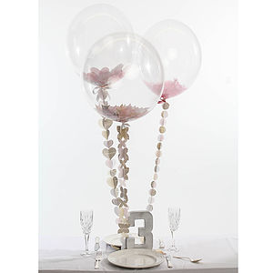 Swoon Table Centre Trio - statement wedding decor