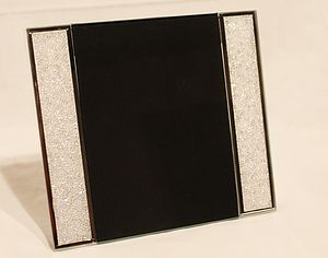 Large Swarovski Crystal Filled Photo Frame - picture frames