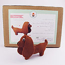 Make Your Own Sausage Dog Sewing Kit