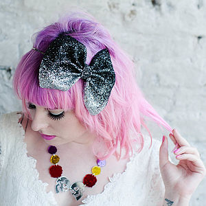 Glitter Ombre Bow Headband - brand new sellers