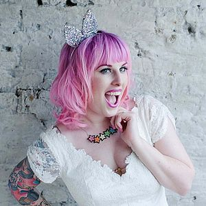 Bunny Or Kitty Gem And Glitter Animal Ears - wedding fashion