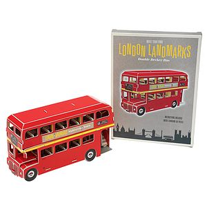 Make Your Own London Landmark Routemaster - toys & games